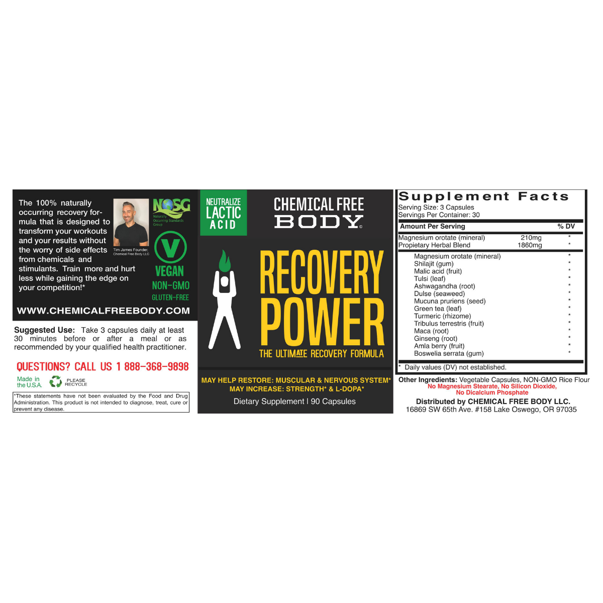 inflamation_pain_reduce_Recovery_power_Chemical_Free_Body_label